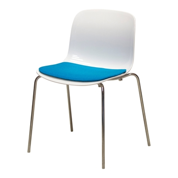 Lyx Dyna i Seaside tyg till Troy chair av Marcel Wanders